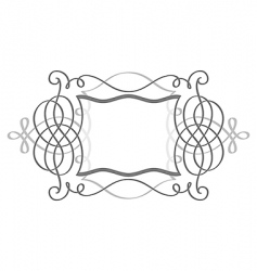 shield frame vector image