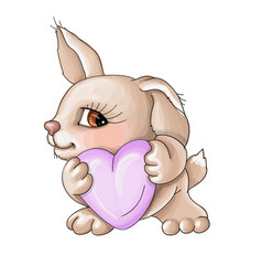 valentine is my heart for you vector image