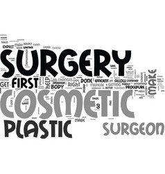 What to expect on your first visit to cosmetic vector