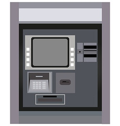 ATM machine vector image vector image
