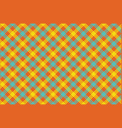 color check diagonal fabric texture background vector image