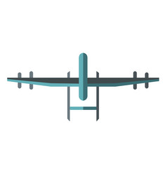 drone icon in flat style vector image vector image
