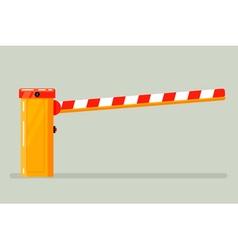 Road Barrier vector image