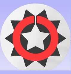 10 degree navajo wedding basket design vector