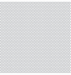 abstract small hexagon pattern of technology vector image