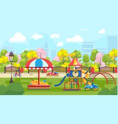 City playground vector