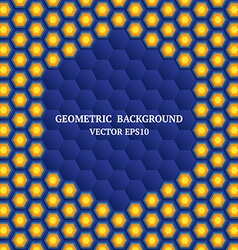 Geometric background 2 vector image