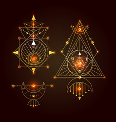 sacred geometry set good for vector image
