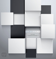 cubic background vector image