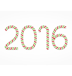 2016 Candy Canes vector
