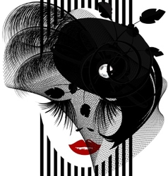 Black dame vector