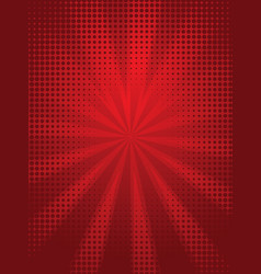 bright red background vector image