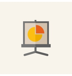 Business Flat Icon vector