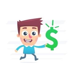 How to spend money vector