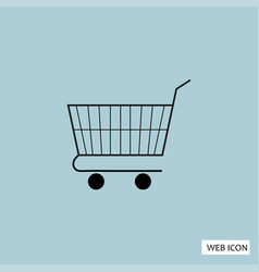 shopping icon shopping icon eps shopping icon art vector image