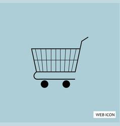 shopping icon shopping icon eps shopping icon art vector image