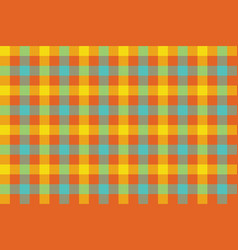 Colors check fabric texture background seamless vector