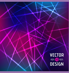 Abstract background of color laser beams vector