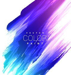 Colorful bright ink stain design vector