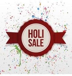 Holi Sale indian Festival colorful Banner vector