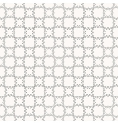 Modern geometric seamless pattern in arabian style vector