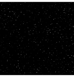 Night Sky with Stars vector image