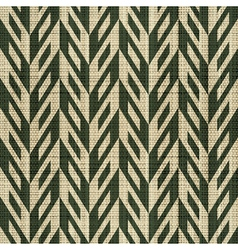 Ornate geometric textile print vector