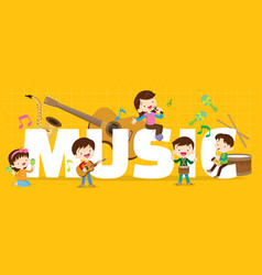 Play music concept vector
