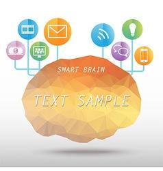 SmartBrain vector image