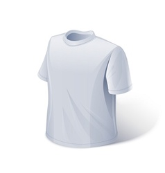 T-shirt Sports wear vector image