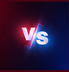 versus background vs battle competition mma vector image