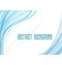 Abstract background with waves vector