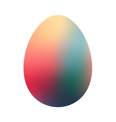 Creative Easter egg vector