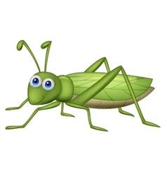 Grasshoppher cartoon vector