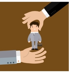 Human resources concept vector image