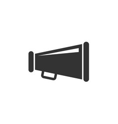 Megaphone speaker icon in flat style bullhorn vector