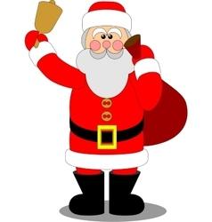 Santa Claus color 04 vector image