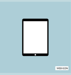 tablet icon tablet icon eps10 tablet icon tablet vector image