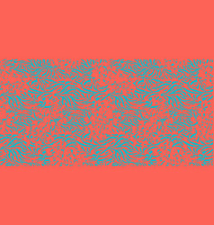 textured modern pattern vector image