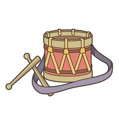 Toy drum vector