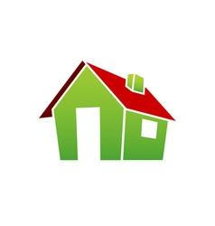 3D-Village-House-380x400 vector image