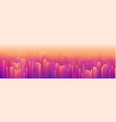 abstract background a sunset or dawn heat over vector image