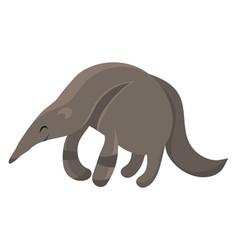 Cartoon anteater vector
