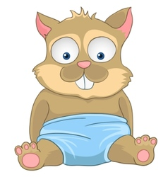 cartoon character cat vector image