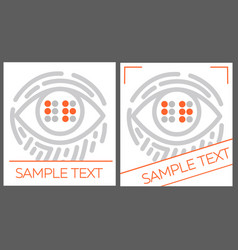 Concept for the education braille vector