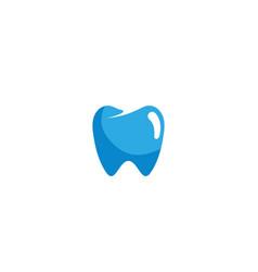 dentist teeth care symbol for dentist clinic logo vector image