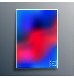 Gradient texture template design for background vector