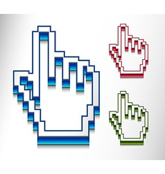 hand mouse cursor vector image