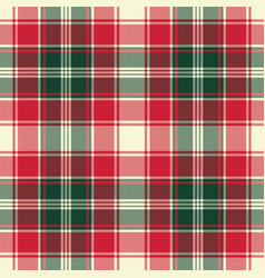 pixel plaid texture fabric seamless pattern vector image