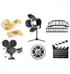 film industry vector image vector image